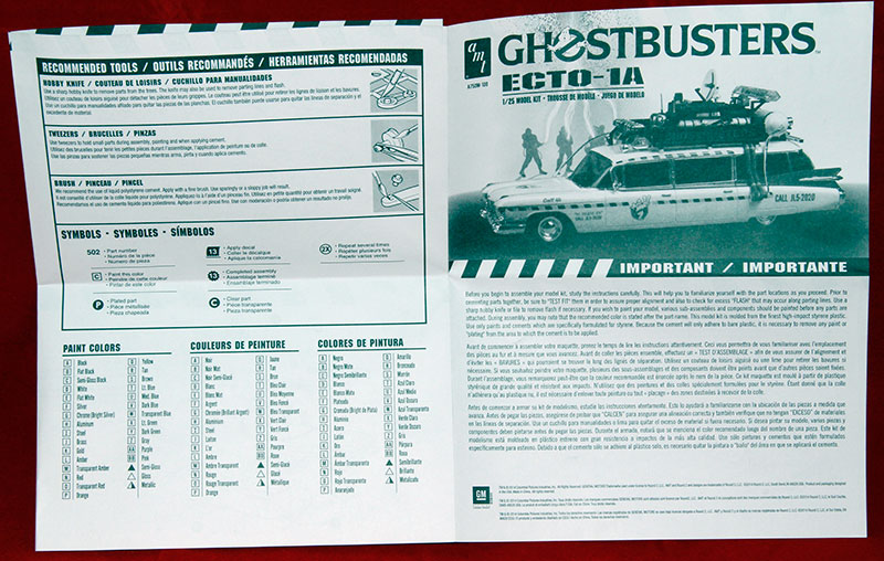 Ghostbusters Ecto 1a Welcome To Alans Hobby Site